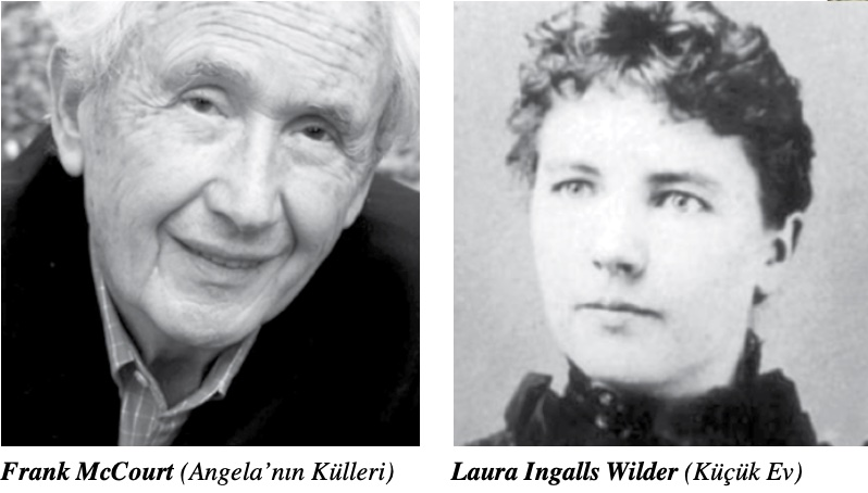 Frank McCourt ve Laura Ingalls Wilder