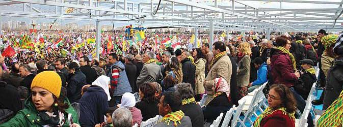 Amed'de Newroz 2015 Kutlamaları