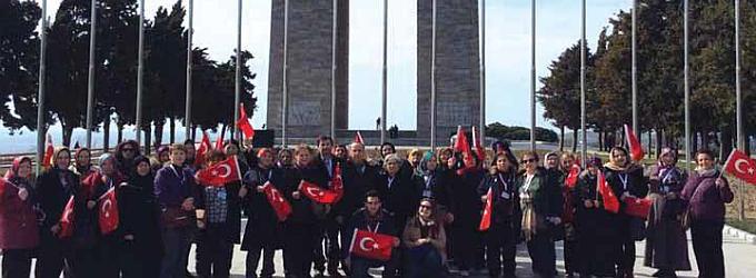 """AKP'li belediyeler eliyle Çanakkale'ye düzenlenen """"Kültür Gezileri""""."""