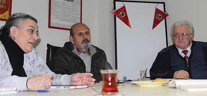 Emekliler Dayanışma Sendikası yöneticileri ile söyleşi