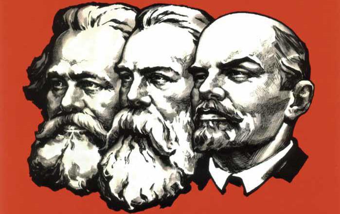 Marks, Engels, Lenin