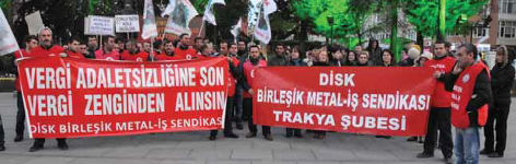 """""""Vergide Adalet İstiyoruz!"""" Protestoları"""